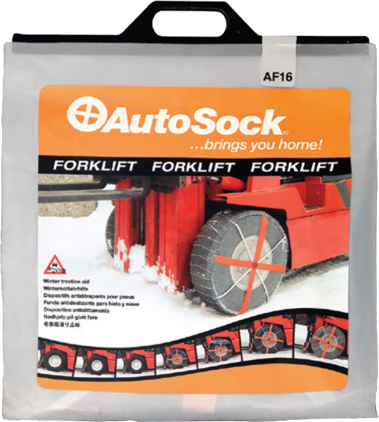 Textilní sněhový řetěz AutoSock pro vysokozdvižné vozíky